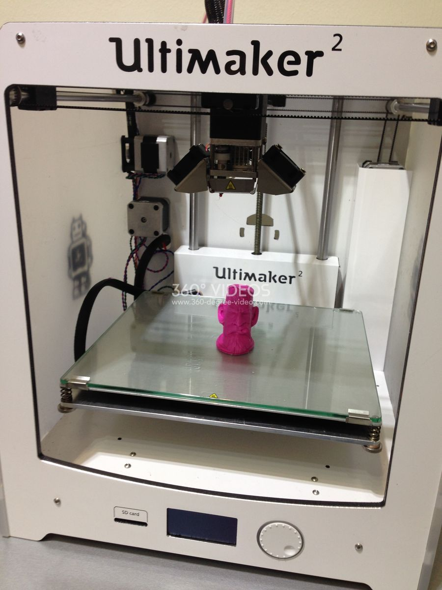 ultimaker-2-white-3d-printer image