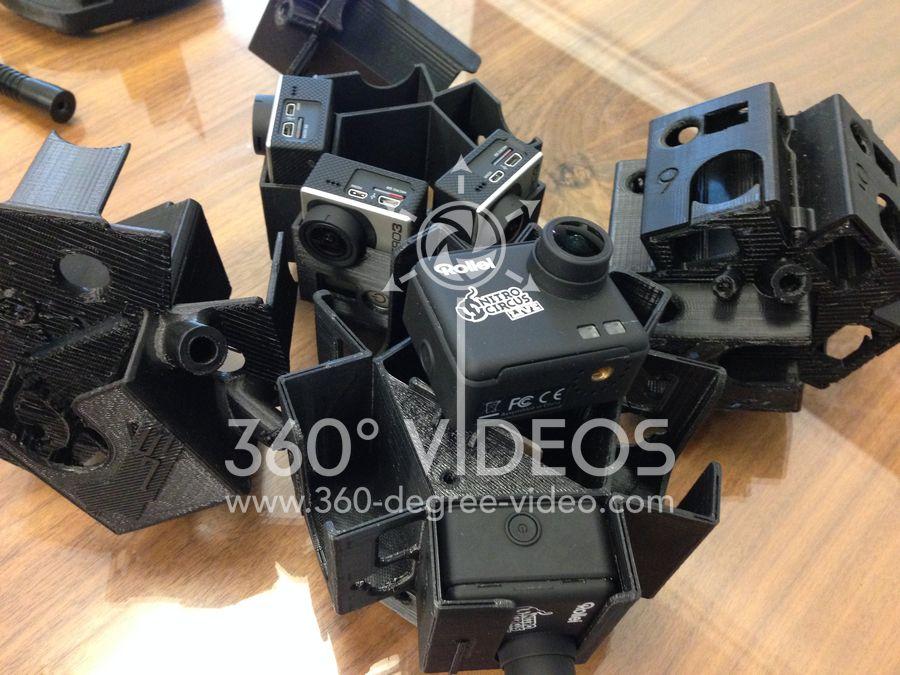 360 degree camera mount