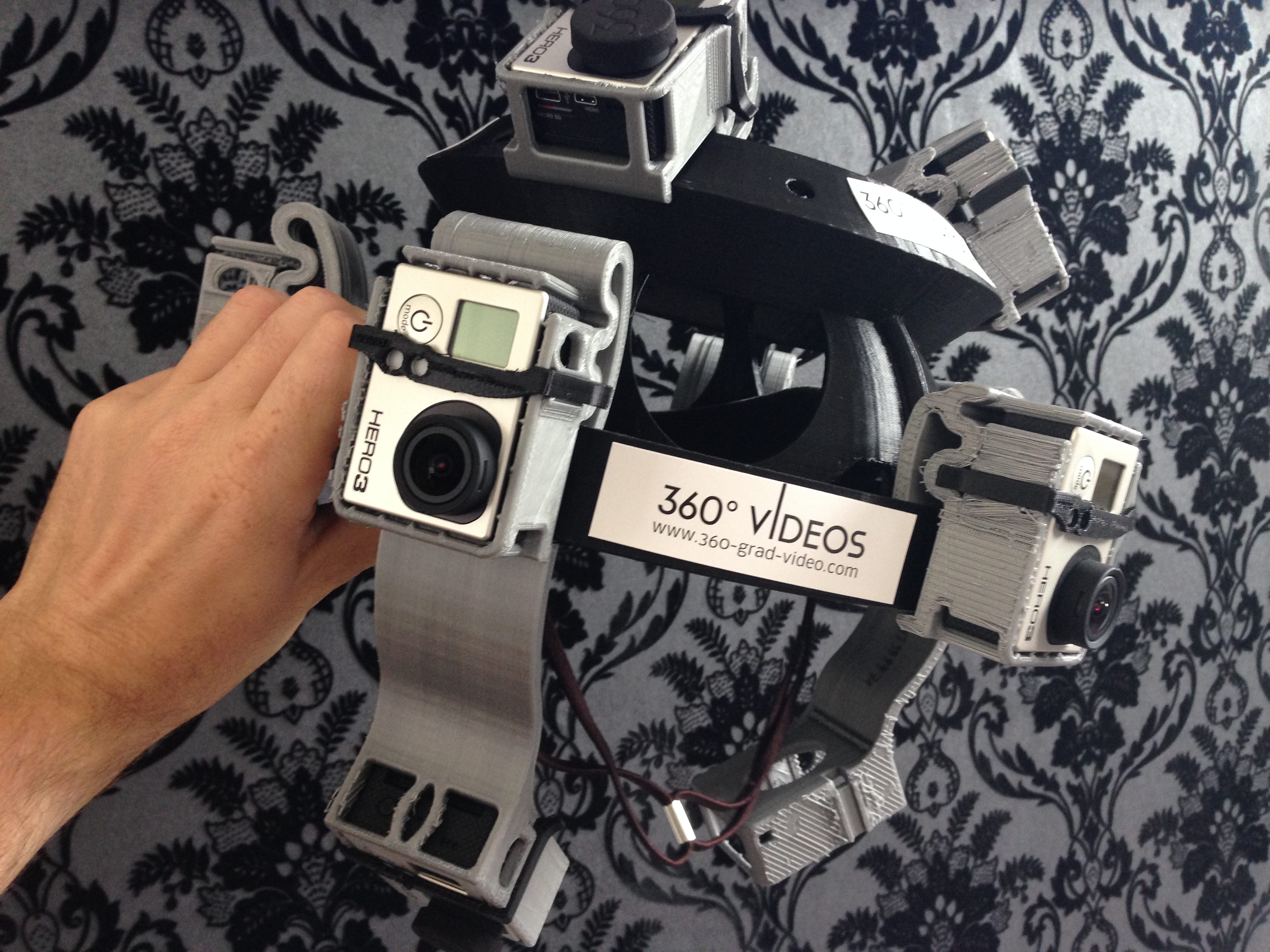 360 degree video gear