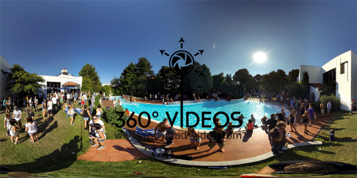 Flat View 360 degree video