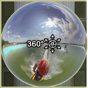 Jetski 360° Video