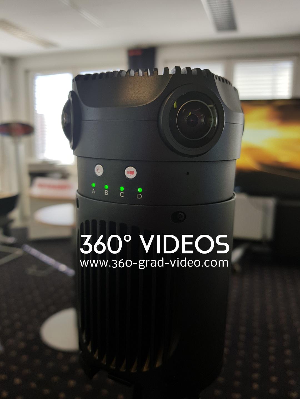 Kamera 360 Grad Video