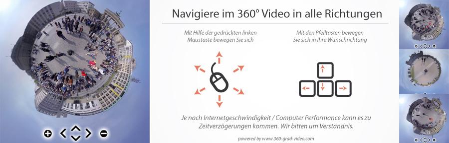 Berlin 360 | navigiere im 360 Video