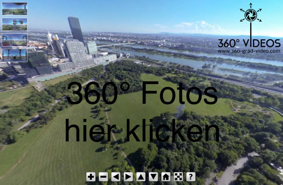 360 Grad Panorama Fotos | Donauturm