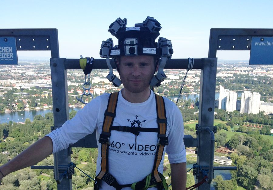 360 Grad Video Helm