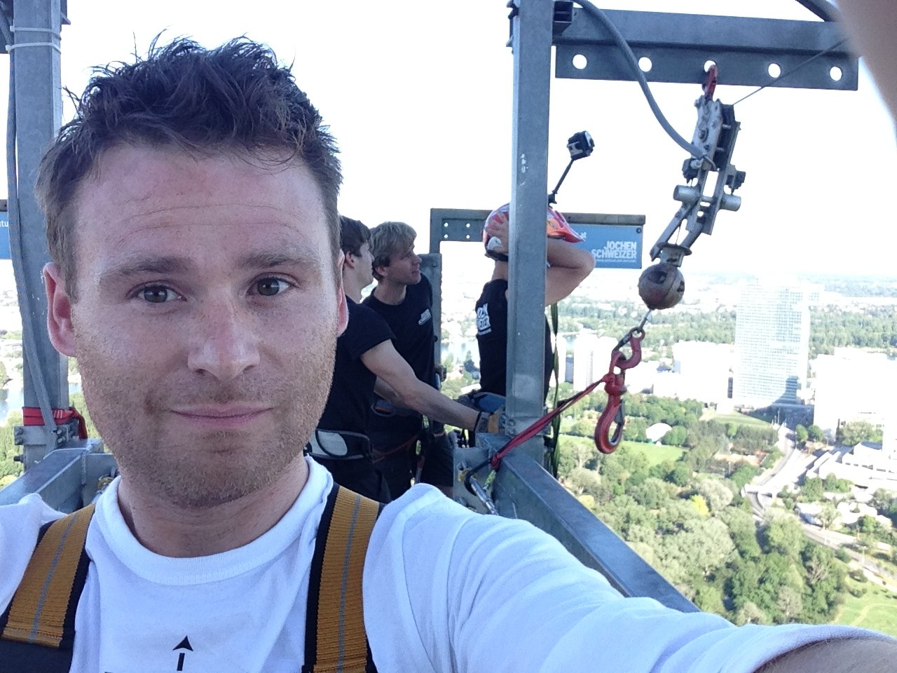 Sprung Donauturm