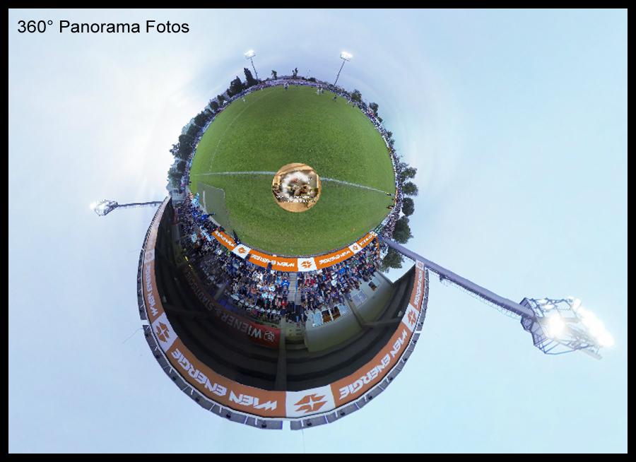 360 Grad Fotopanoramen