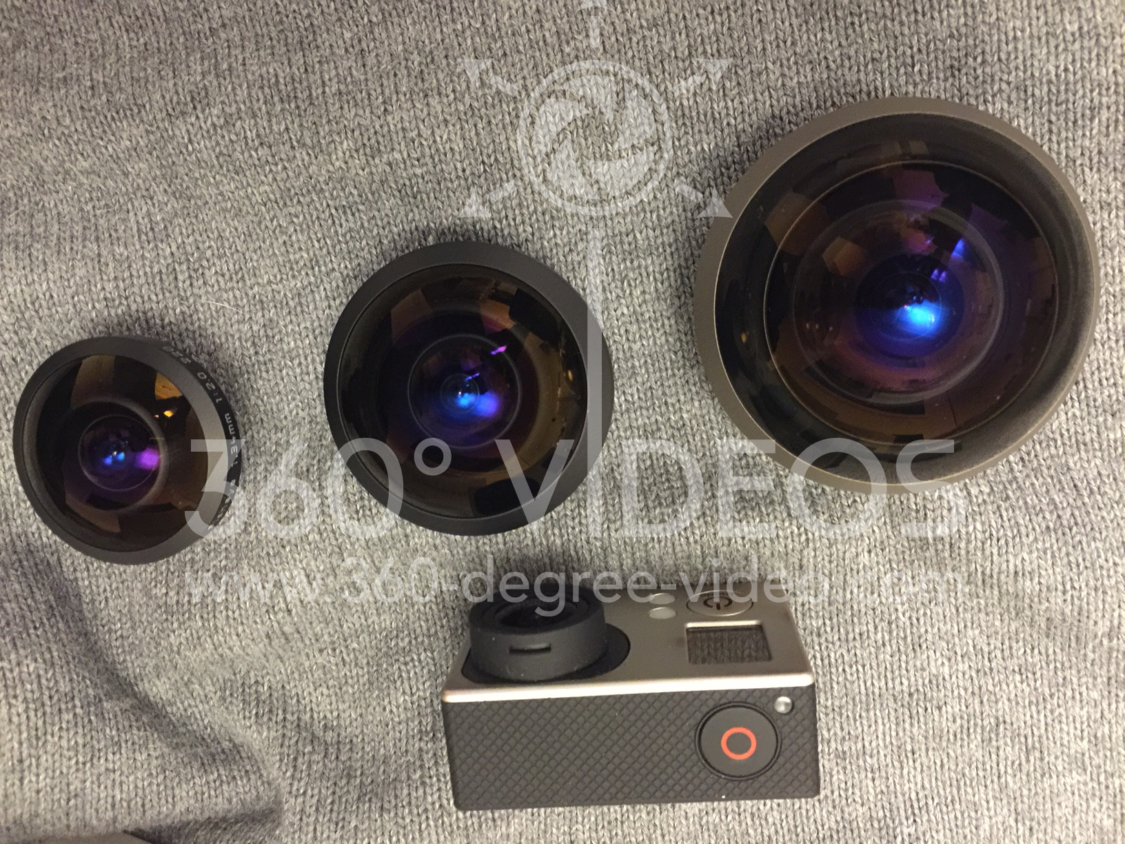 360 degree video fisheye lens for GoPro | Entaniya 280 Lens