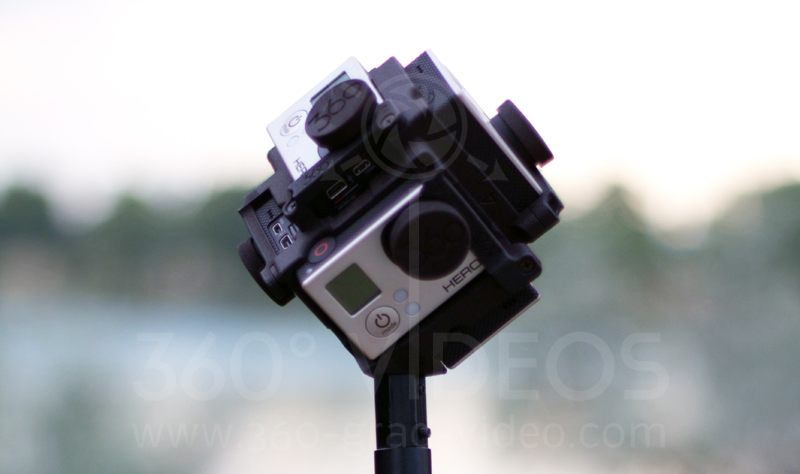 Freedom360 - 360 video rig