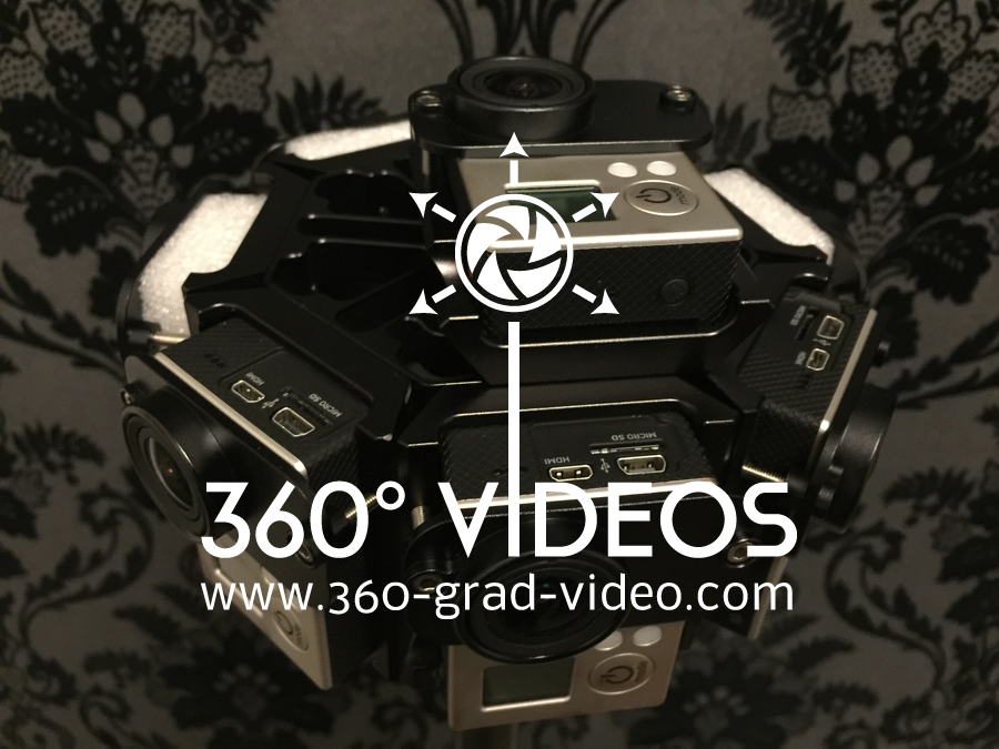 8er GoPro Video Halterung
