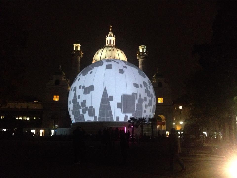 iSphere Karlsplatz Content Art | 2013 | Fulldome Projektion Wien