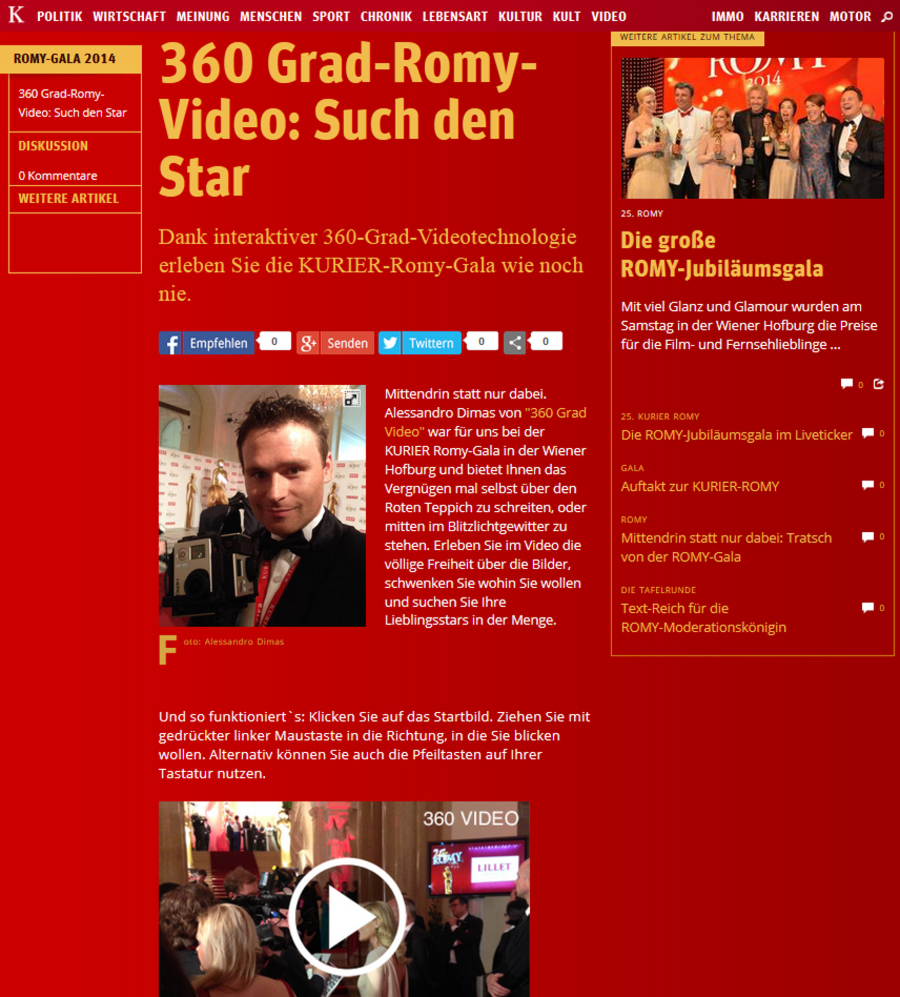 Romy Gala | 360 Grad Video