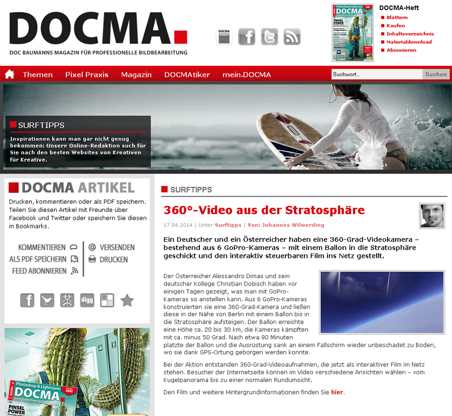 Docma 360 Grad Video
