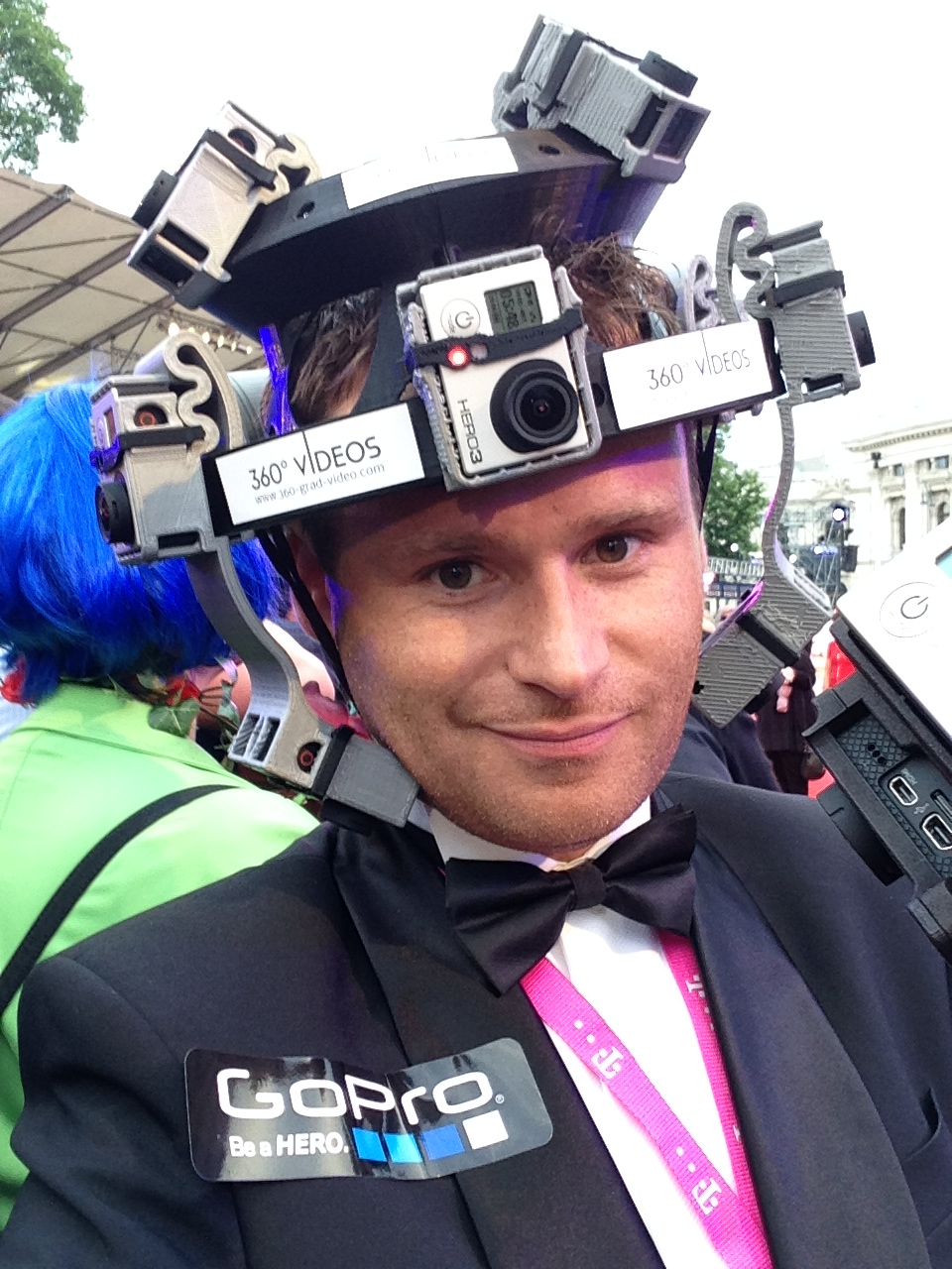 GoPro Helmet Life Ball 360 degree video