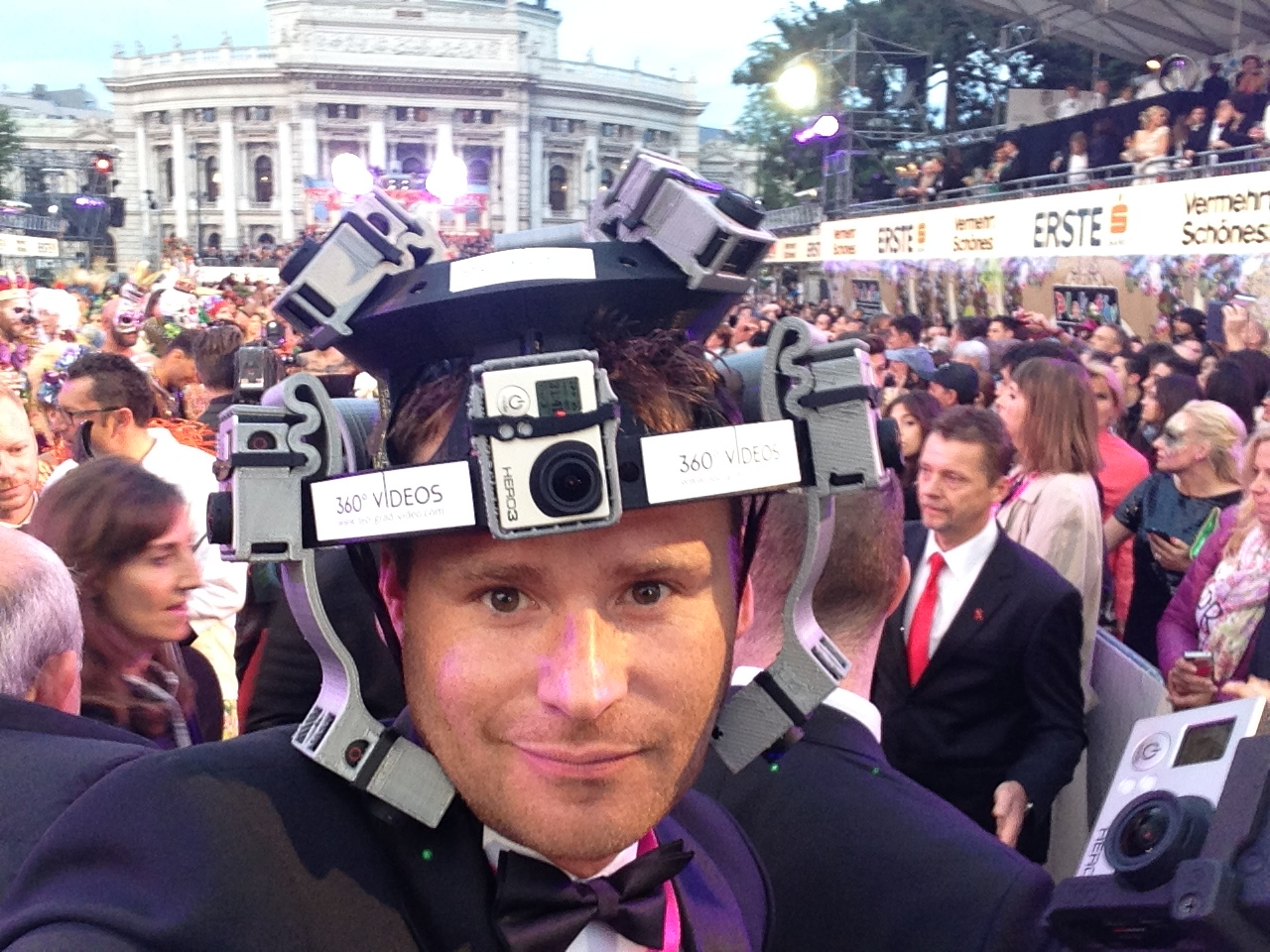 Helm Kamera Life Ball 360 Grad Video