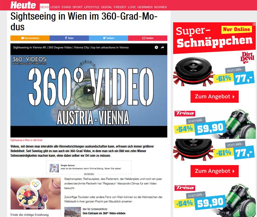 heute 360 Grad Wien Wien