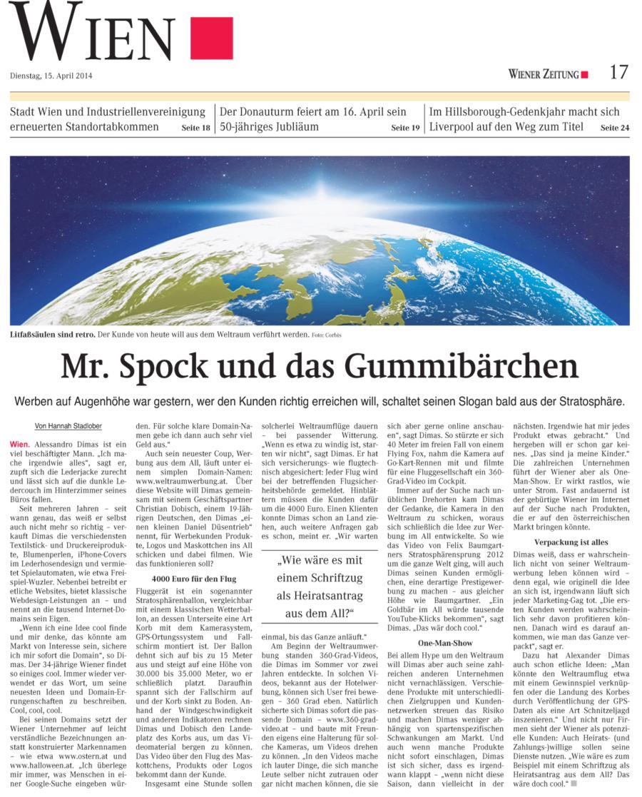 Wien Wiener Zeitung