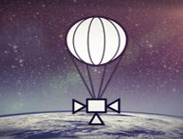 360 Grad Video Stratosphäre