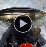 Speedboot Donauinsel